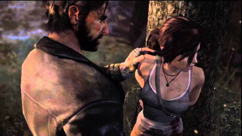 Even Lara can't escape protagonist gendering